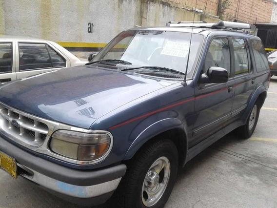 Camioneta Ford Explorer 1998 2.4 5 Puertas Gasolina Y Gas