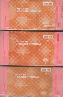 Ad Astra 5013m Ficha De Control De Horario Ibm Mensual