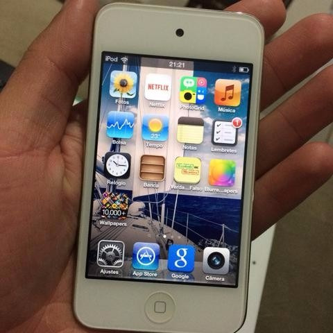 iPod Apple 32gb - Branco (2 Meses De Uso)