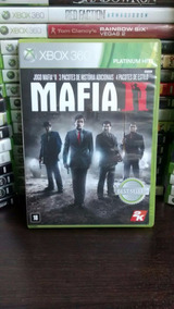 Jogo Mafia 2 Xbox 360 Original, Frete R$ 12