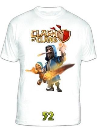 Remeras Clash Of Clans Diseños Exclusivos!! Modal Sublimadas