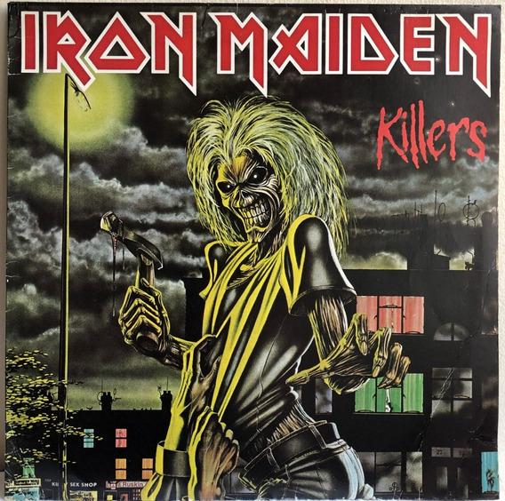 Lp Vinil Iron Maiden Killers, 1981 - Original Da Época.