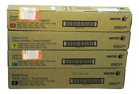 Kit Toner Xerox Original 7525,7530,7535,7545,7556,7830,7970