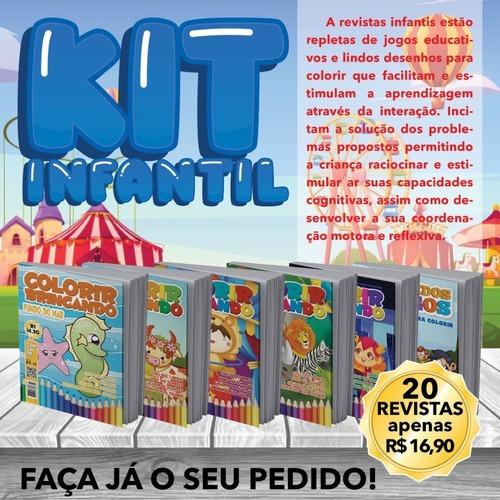 Imagem 1 de 1 de Pintar E Colorir Diversos Kit Com 200 Unidades