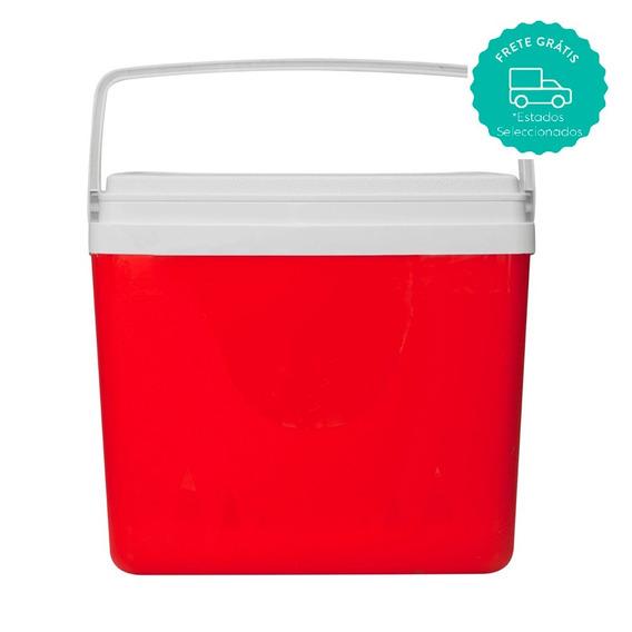 Caixa Térmica 20 L Vermelho