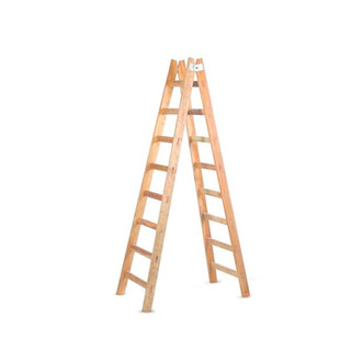 Escalera De Madera Pintor Ipema 4 Escalones - Pintecord