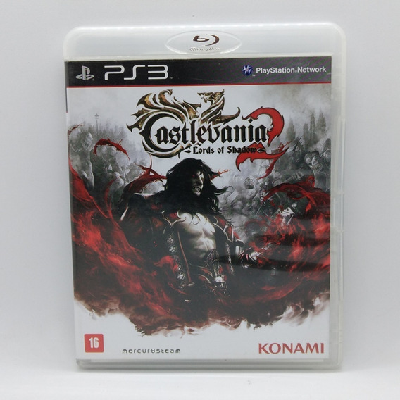 Castlevania Lords Of Shadow 2 Ps3 Midia Fisica Portugues