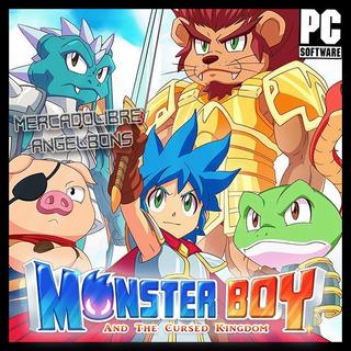 Monster Boy And The Cursed Kingdom Juego Pc Español