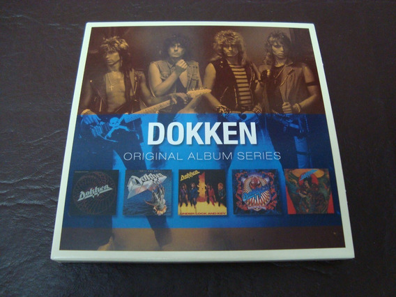 Dokken The Original Album Series 5 Cd Importados