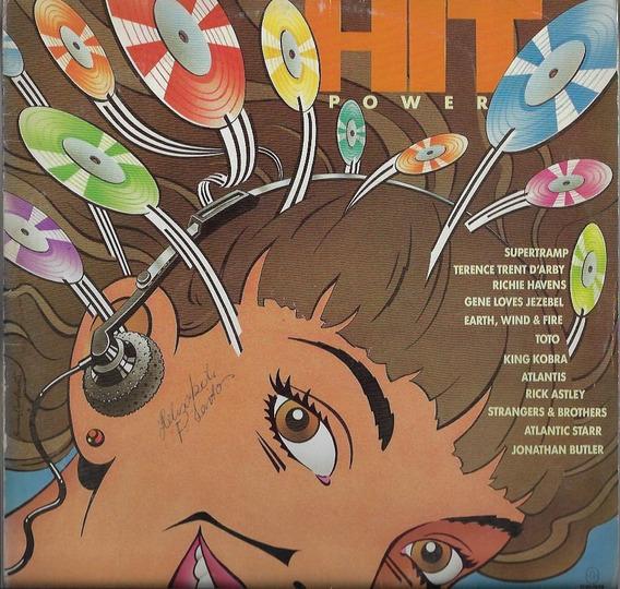 Disco De Vinil Lp Coletânea 1988 Hit Power Som Livre