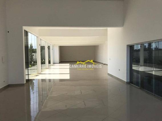 Salão Para Alugar, 234 M² Por R$ 8.000/mês - Vila Pavan - Americana/sp - Sl0363