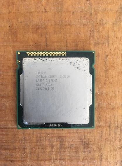 Processador I3 2100 Lga 1155 - Oem - Garantia + Cooler
