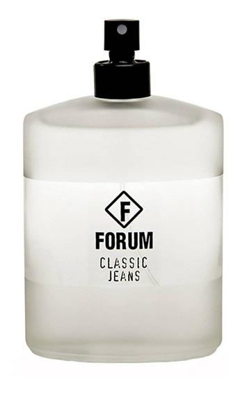 Forum Classic Jeans Perfume Unissex - Edc 50ml Beleza Na Web