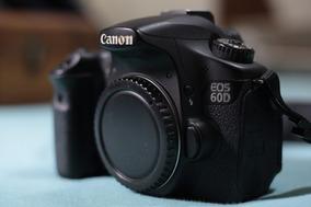 Camera Canon 60d Corpo + Bateria + Carregador