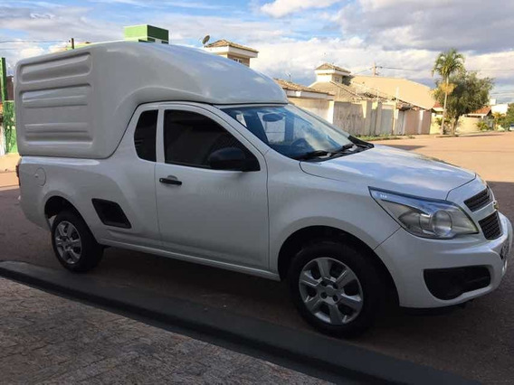 Chevrolet Montana 1.4 Ls Econoflex 2p 2017 Furgão Jundiai Sp