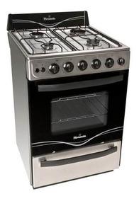 Cocina Florencia 56 Cm 5538a Multigas Autolimpiante Acero