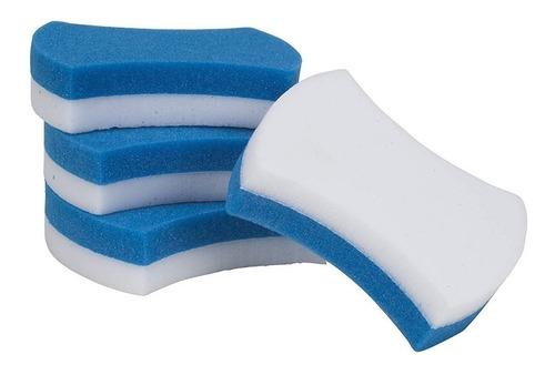 Imagen 1 de 6 de  Paquete De 4 Esponjas Borra Fácil Limpia Manchas Difíciles