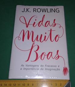 Vidas Muito Boas Jk Rowling Livro Lacrado Harry Potter