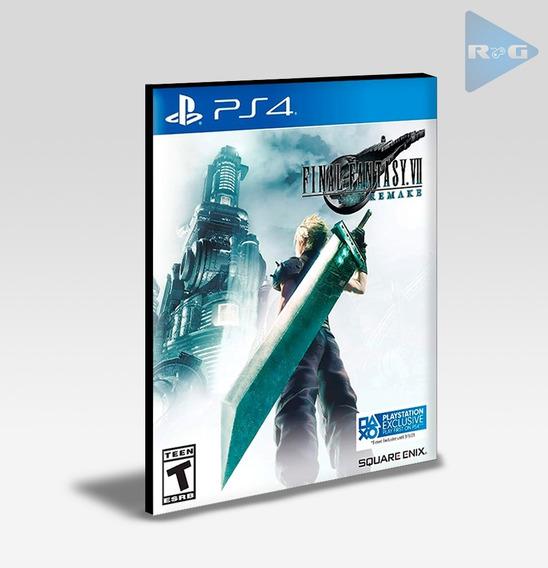 Final Fantasy Vii 7 Remake Ps4 - Português - Envio Agora