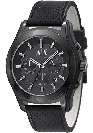Bonito Reloj Armani Exchange Ax2073 Negro Remate