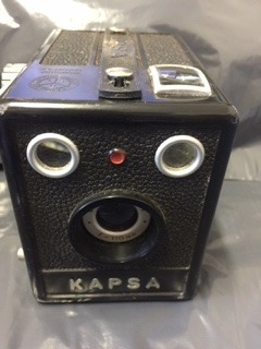 Máquina Fotográfica Kapsa Antiga - Antiguidade