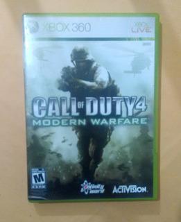 Videojuego Call Of Duty 4 Modern Warfare Xbox 360