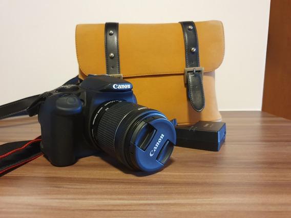Câmera Canon 700d T5i Semi Nova Com Lente 18-55mm