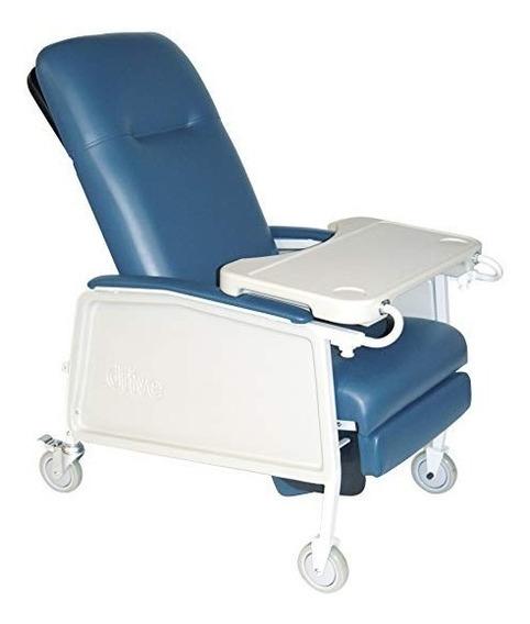 Sillón Para Hemodiálisis Con 1 Charolas Marca Drive Medical