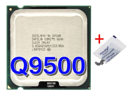 Processador Intel Core 2 Quad Q9500 + 2gb Ddr3 + Cooler