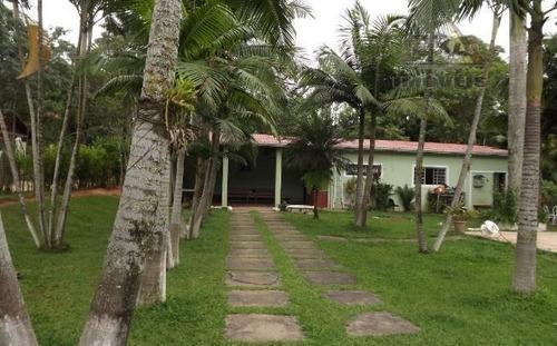 Chácara Com 5 Dormitórios À Venda, 3726 M² Por R$ 700.000 - Aralú - Santa Isabel/sp - Ch0076