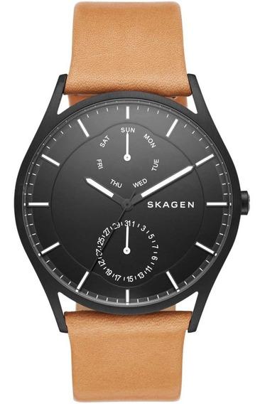 Relógio Skagen Masculino Slim Multifunção Analógico Skw6265/