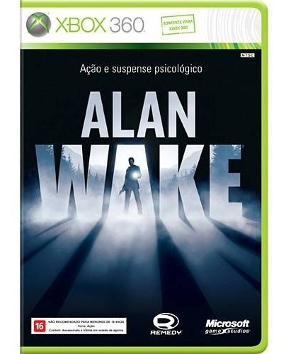 Alan Wake -xbox 360 (original)