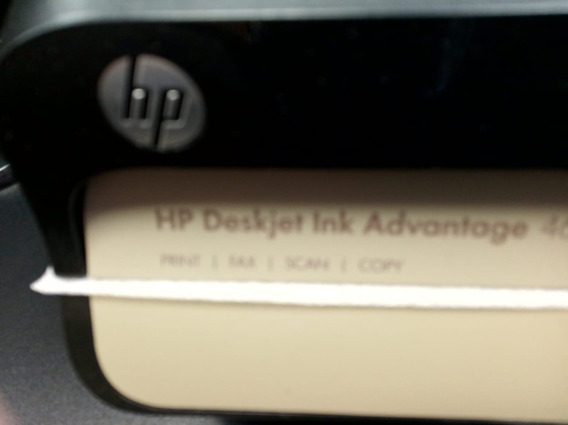 Impressora Hp Deskjet Ink 4625 Hp