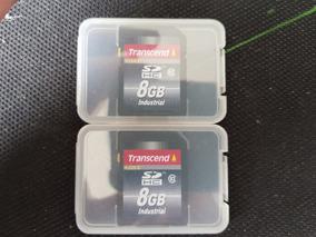 2x - Cartões Sd Industrial Transcend - 8gb - Classe 10