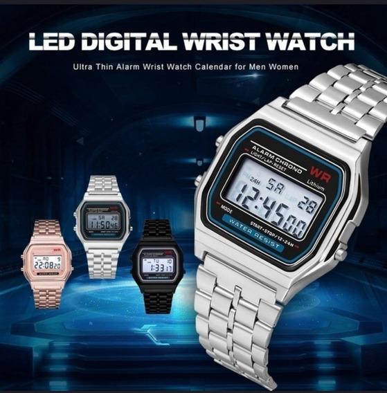 Fo Led Digital Wrist Watch Ultra Thin
