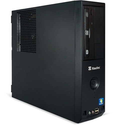 Pc Recertificado Itautec 4272p Dc 840 4gb 500gb Dvd Win7 Pro
