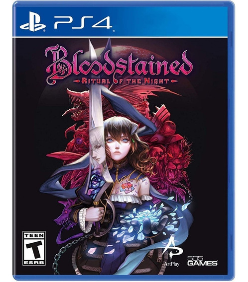 Bloodstained Ritual Of The Night Ps4 Mídia Física Novo