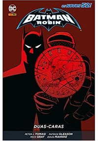 Hq Batman E Robin: Duas-caras Panini Capa Dura Português