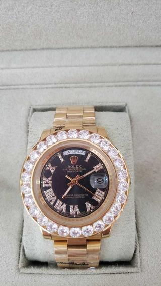 Relógio Rolex Oyster Perpetual Day-date Automático Preto