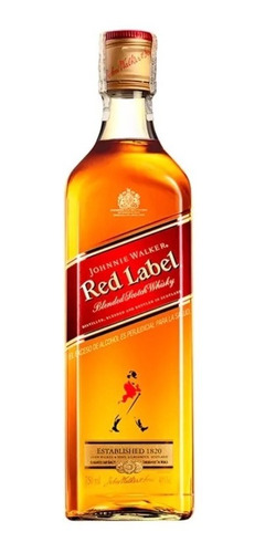 Whisky Johnnie Rojo 1l