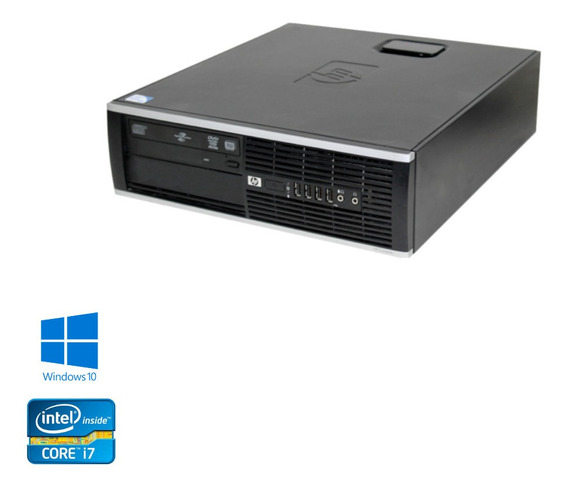 Cpu - Hp 8300 Intel Core I5 - 4gb Ssd 480gb Win10 - Promoção