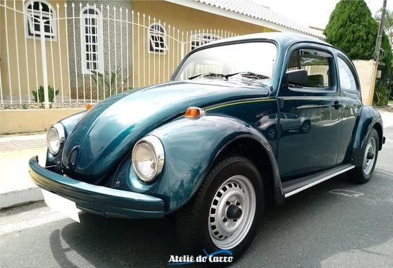 Vw Fusca Itamar 1995 2º Dono Todo Original - Ateliê Do Carro