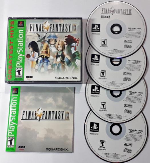 Jogo Final Fantasy Ix 9 Ps1 Original Playstation Rpg Square