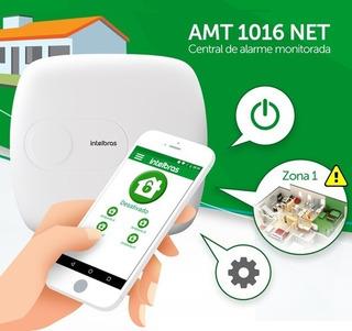 Kit Central De Alarme Amt 2011 2 Sensores Sem Fio + Receptor