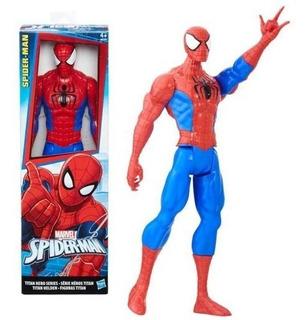 Muñeco Spiderman Titan Hero Series 30 Cm Articulado Hasbro