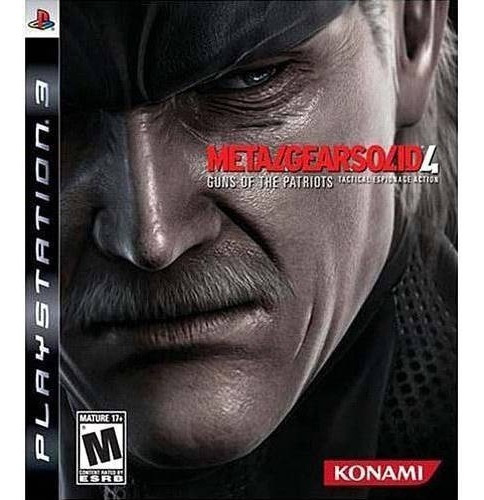 Jogo Metal Gear Solid 4 Guns Of The Patriots - Ps3 Usado