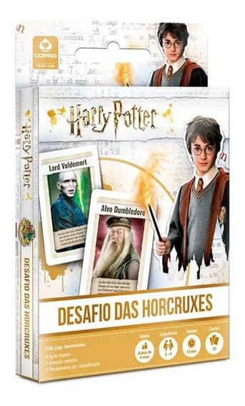 Jogo De Cartas Harry Potter Desafio Das Horcruxes - Copag