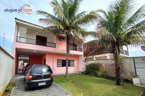 Casa Com 4 Dormitórios À Venda, 240 M² - Estância Balneária Maria Helena Novaes - Peruíbe/sp - Ca3337