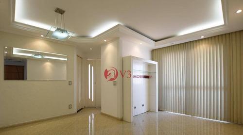 Apartamento, 55 M² - Venda Por R$ 380.000,00 Ou Aluguel Por R$ 1.900,00/mês - Mooca - São Paulo/sp - Ap0200