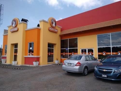 Renta Local Y Terreno De 3205 M2 En Carretera México Toluca